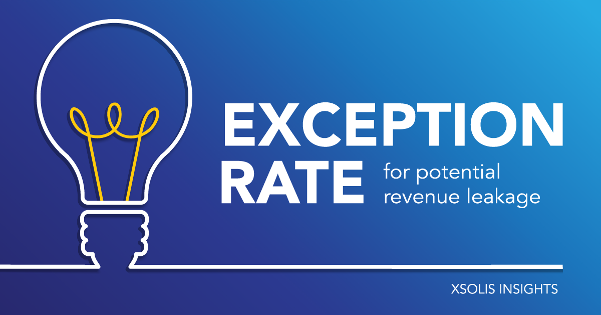 Metric You Should Know: The Exception Rate for Potential Revenue Leakage
